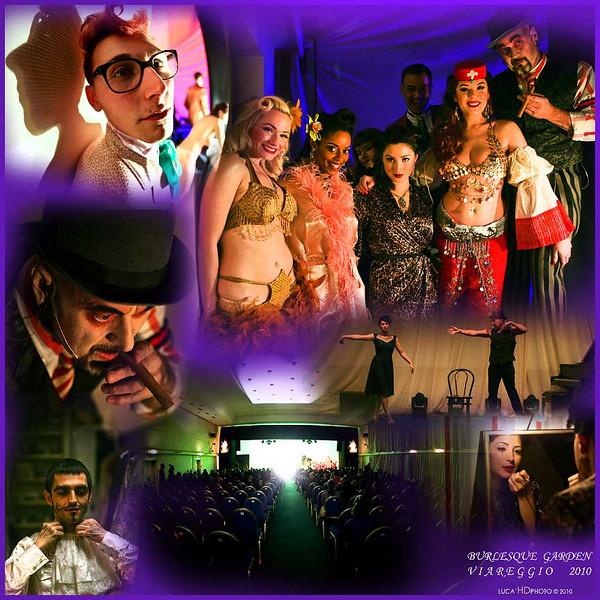 Burlesque Garden, Viareggio Febbraio 2010<br /> <br /> Lo Show sta per iniziare....