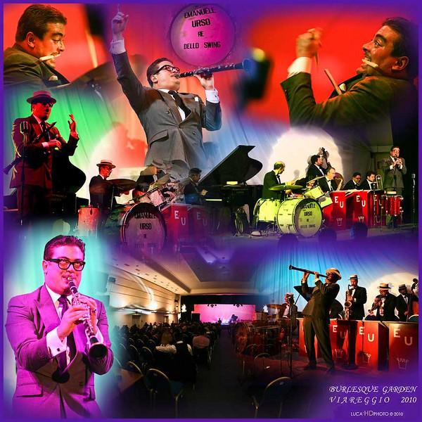 Burlesque Garden, Viareggio Febbraio 2010<br /> <br /> Emanuele Urso Orchestra RE DELLO SWING