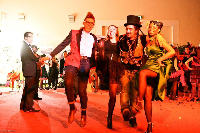 THE PARTY Burlesque Garden, Viareggio Febbraio 2010