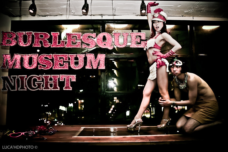 Burlesque Museum Night Tokyo Japan