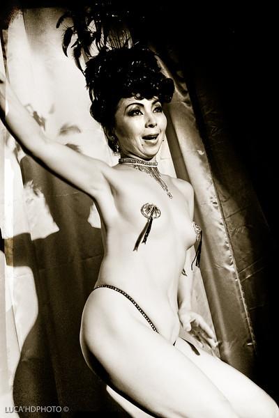Burlesque Museum Night Tokyo Japan<br /> <br /> Erochica Bamboo
