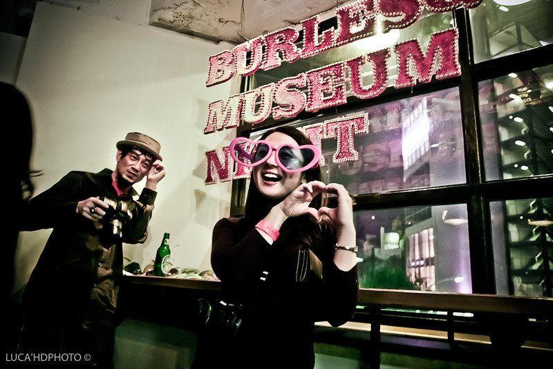 """Burlesque Museum Night Tokyo Japan<br /> <br /> Tominari Testu ( <a href=""""http://www.tabou.org"""">http://www.tabou.org</a>) and Kana"""