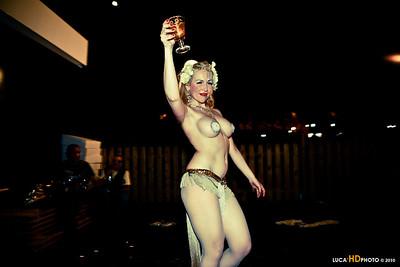 Roxy Rose, Burlesque performer 2010