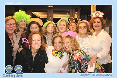 Jubilación Carmina y Llanos 25.11.2016 Albacete