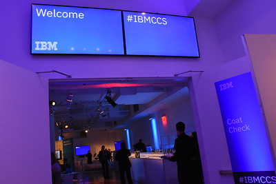 IBM Cloud and Cognitive Summit in New York City, on November 1, 2017.
