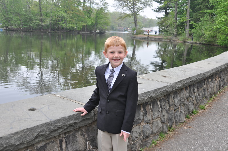 Luke's communion ceremony and celebration on May 9th, 2015.<br /> <br /> Photo by Cynthia Carris