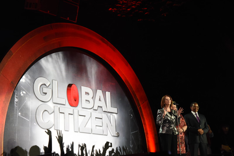 Global Citizen Festival, in New York City, September 24, 2016.