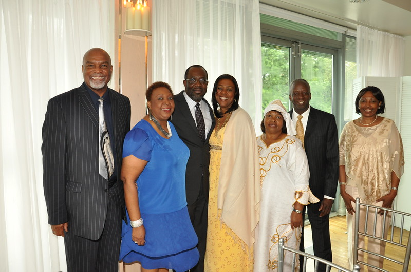 "Wedding celebration of Afua and Cephus on Sunday, August 14, 2011.<br /> <br /> PHOTO BY: CYNTHIA CARRIS<br /> <a href=""http://www.photosolutionsnyc.com/"">http://www.photosolutionsnyc.com/</a>"