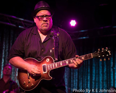 Jeff Watson with the Buddy Emmers' Blues Band