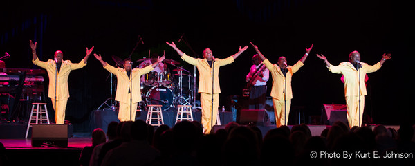 The Spinners @ Harrah's Tahoe 11-15-2014