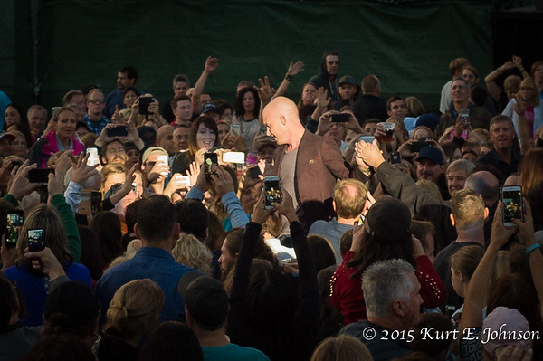 The Fray @ Harvey's Outdoor Arena 07-21-2015
