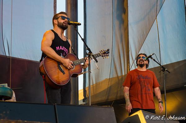 Andrew & Aaron Hagar at Harvey's Outdoor Arena 07-02-2017