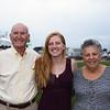 Leo and Pat Sack with Granddaughter Lydia Sack at Saint Patrick's Church 100th Anniversary Celebration on Sunday 8-16-2014 @ Hampton Beach, NH.  Matt Parker Photos