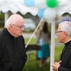 Father Finnigan and Bishop Libasci at Saint Patrick's Church 100th Anniversary Celebration on Sunday 8-16-2014 @ Hampton Beach, NH.  Matt Parker Photos