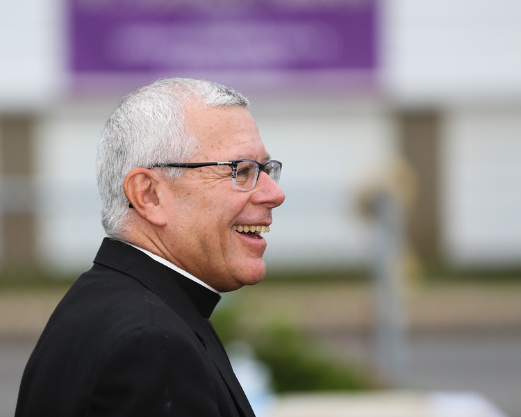Bishop Libasci at Saint Patrick's Church 100th Anniversary Celebration on Sunday 8-16-2014 @ Hampton Beach, NH.  Matt Parker Photos
