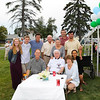 Monsignor Crosby with the Sack  and Parker Family's at Saint Patrick's Church 100th Anniversary Celebration on Sunday 8-16-2014 @ Hampton Beach, NH.  Matt Parker Photos
