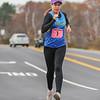 Race walker Erin Taylor-Talcott of Owego NY nears the 4 mile marker during the 9th Annual Seacoast Half Marathon on Sunday 11-9-2014 @ Rye and Portsmouth, NH.  Matt Parker Photo