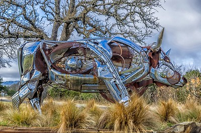 Highway Art...Johnson City, Texas