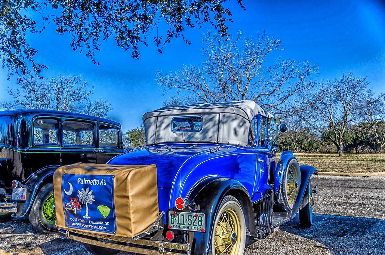 Model A Car Club...Stonewall, Texas