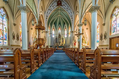 St Mary's Catholic Church...Fredericksburg, Texas