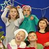 A group of kids having fun at the Hampton PTA Santa Breakfast and Food Drive @ Hampton Academy on Saturday 12-12-2015, Hampton, NH.  Matt Parker Photos