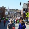 Great Bay Half Marathon and Beyond The Rainbow 5k Road Race on Sunday 4-12-2015 @ Newmarket, NH.  Matt Parker Photos