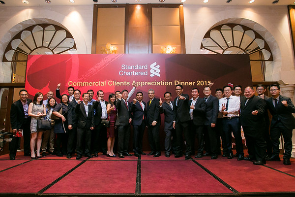 STANDARD CHARTERED BANK COMMERCIAL CLIENT APPRECIATION DINNER 2015