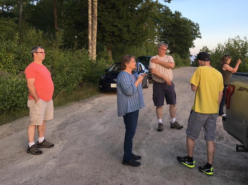 Brett, Jeannie, Bruce and Mosquito, Patrick, Melissa
