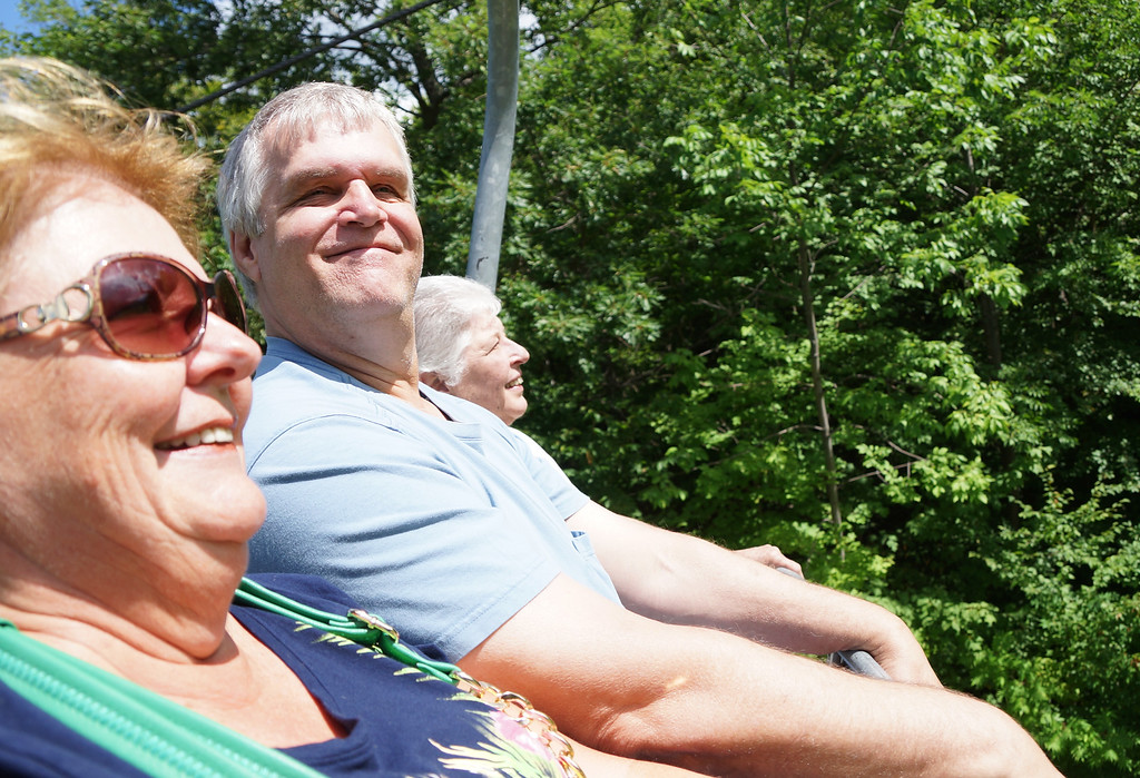 Jean Hamer, Bruce Randall, Carol Stratton