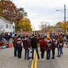 The Portsmouth High School Choir sings the National Anthem prior to the start of 2016 Seacoast Half Marathon on Sunday 11-13-2016 @ Portsmouth, NH.  Matt Parker Photos
