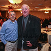 Joe Higgins and Hampton Selectman Chairman Rusty Bridle pose for a photo at an event honoring Joe as the 2016 Rotary Club of Hampton Distinguished Citizen of the Year, on Tuesday 11-15-2016 @ Ashworth By the Sea.  Matt Parker Photos