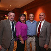 Joe Higgins of the Old Salt Restaurant poses for a photo with (L to R) Larry Marsolais, Colette Granigan, Joe and Richard Gibadlo at the 2016 Rotary Club of Hampton Distinguished Citizen of the Year, on Tuesday 11-15-2016 @ Ashworth By the Sea.  Matt Parker Photos