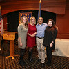 Joe Higgins with daugher's Katrina (L) and Tanya (R) with his wife Karen pose for a photo for Joe's being honored as Hampton Rotary Club's 2016 Citizen of the Year on Tuesday 11-15-2016 @ The Ashworth By the Sea, Hampton Beach, NH.  Matt Parker Photos