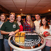Members of the Hampton Fire Department (L to R) Kourtney Auger, Matt Cray, Kate Meehan, Karissa Kerouac, Alex Holmes and Darian Millet pose for a photo at the entrance to Wally's Pub where tickets were sold to raise money for the Hampton Fire Fighter Toy Bank and Chili Cook-off Fundraiser on Thursday 11-17-2016 @ Wally's Pub, Hampton Beach, NH.  Matt Parker Photos