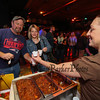 Victoria's Kitchen serves up chili to customers at the Hampton Fire Fighter Toy Bank and Chili Cook-off Fundraiser on Thursday 11-17-2016 @ Wally's Pub, Hampton Beach, NH.  Matt Parker Photos