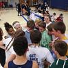 Winnacunnet Warriors Battle of the Classes Basketball fundraiser, Freshmen WHT, Sophmore RED, Juniors BLU and Seniors BLK on Friday 11-18-2016 @ WHS.  Sr-44, So-31.  Matt Parker Photos