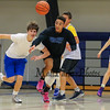 Winnacunnet Warriors Battle of the Classes Basketball fundraiser, Freshmen WHT, Sophmore RED, Juniors BLU and Seniors BLK on Friday 11-18-2016 @ WHS.  Sr-44, So-31.  Matt Parker Photos