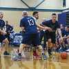 Exeter High School Staff vs Cooperative Middle School Staff Coed Basketball game fundraiser by EHS students where enough money was raised to buy 2 goats  for Heifer International which is a 501 (c)(3) charitable organization fighting Hunger and poverty on Tuesday 11-22-2016 @ EHS.  Matt Parker Photos