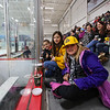 Youngs fans with a front row seat at the Richie McFarland Children's Center Charity Hockey event between the Boston Bruins Alumni vs Team Richie on Saturday 12-17-2016 @ The Rinks at Exeter.  Matt Parker Photos