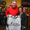 NY Congressman John Katko (#11 for Team Richie) and Richie McFarland Events Coordinator Jessica Carbonneau pose for a photo during the after party at Shootes Pub in Exeter after the Richie McFarland Children's Center Charity Hockey event between the Boston Bruins Alumni vs Team Richie on Saturday 12-17-2016 @ The Rinks at Exeter.  Matt Parker Photos