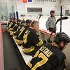 Bruins Alumni team bench at the Richie McFarland Children's Center Charity Hockey event between the Boston Bruins Alumni vs Team Richie on Saturday 12-17-2016 @ The Rinks at Exeter.  Matt Parker Photos