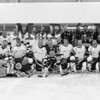 Bruins Alumni and Team Richie team photo at the Richie McFarland Children's Center Charity Hockey event between the Boston Bruins Alumni vs Team Richie on Saturday 12-17-2016 @ The Rinks at Exeter.  Matt Parker Photos