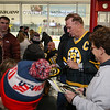Bruins Alumni #16 Rick Middleton signs autographs at the Richie McFarland Children's Center Charity Hockey event between the Boston Bruins Alumni vs Team Richie on Saturday 12-17-2016 @ The Rinks at Exeter.  Matt Parker Photos