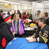 Bruins Alumni #77 Ray Bourque signs autographs at the Richie McFarland Children's Center Charity Hockey event between the Boston Bruins Alumni vs Team Richie on Saturday 12-17-2016 @ The Rinks at Exeter.  Matt Parker Photos