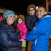 Gabrielle and Eugene Borden with Daughter Jojo and Son Max waiting in line for the Hay Ride at the 2016 Annual Christmas Tree Lighting at the Gazebo at Marelli Square sponsored by the Hampton Parks & Recreation Department on Friday Night, Hampton, NH, 12-2-2016.  Matt Parker Photos