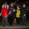(L to R) Landon Harrington, Riley McDaniel, Jack Goodick, Logan Brown and Logan Lochiatto at the 2016 Annual Christmas Tree Lighting at the Gazebo at Marelli Square sponsored by the Hampton Parks & Recreation Department on Friday Night, Hampton, NH, 12-2-2016.  Matt Parker Photos