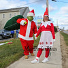 The Grinch with Miss Hoo at the 2016 Experience Hampton Christmas Parade on Saturday 12-3-2016, Rt. 1 Hampton, NH.  Matt Parker Photos