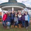 The Winnacunnet Chamber Singers performed at the 2016 Experience Hampton Christmas Parade on Saturday 12-3-2016, Rt. 1 Hampton, NH.  Matt Parker Photos