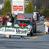 Members of the James House march in the 2016 Experience Hampton Christmas Parade on Saturday 12-3-2016, Rt. 1 Hampton, NH.  Matt Parker Photos