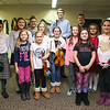 Music and voice students from the area schools of Centre School, Marston School, Hampton Academy and Winnacunnet High School pose for a photo after Friday's Christmas Holiday Concert and Performance for the residents of Dearborn House on 12-9-2016 @ Dearborn House, Hampton, NH.  Matt Parker Photos